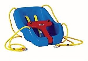 Little tikes 2 in 1 snug secure swing toys for Baby garden swing amazon