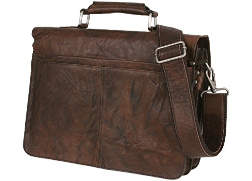 Bull&Hunt - Business Bag-washed brown
