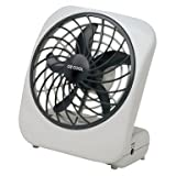 Tools & Hardware : O2COOL 5-Inch Portable Fan, Gray