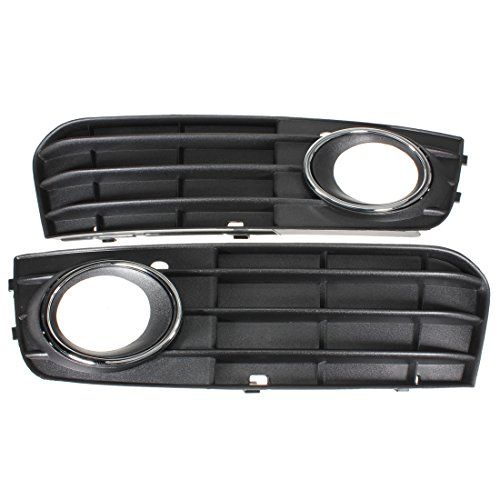 Pair Car Fog Lights Grilles Non-Slinefor Audi A4 - Cues And Clues