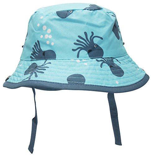 TotMore Octopus Unisex Baby Toddler Bucket Sun Protection Animal Reversible Hat