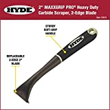 HYDE 10610 Paint Scraper, Carbide Blade, 2-in