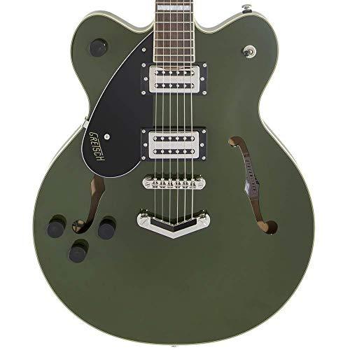 Gretsch G2622LH Streamliner Center Block Left-Handed Electric Guitar (Torino Green)