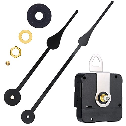 WILLBOND High Torque Clock Movement Replacement Mechanism with Clock Hands to Fit Dials Up to 56 cm/22 Inches in Diameter by WILLBOND