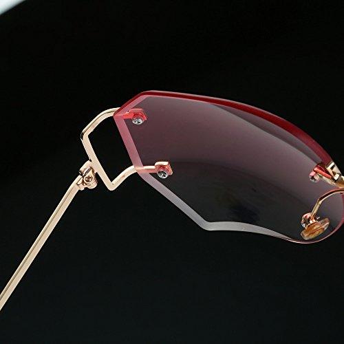 ... Lunettes De Soleil Covermason Hommes femmes lentille transparente  verres Spectacle Metal Frame myopie lunettes Lunette Femme 380b6ee2f43