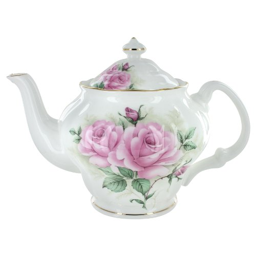 Coastline Imports Rose Bouquet Bone China 5 Cup -
