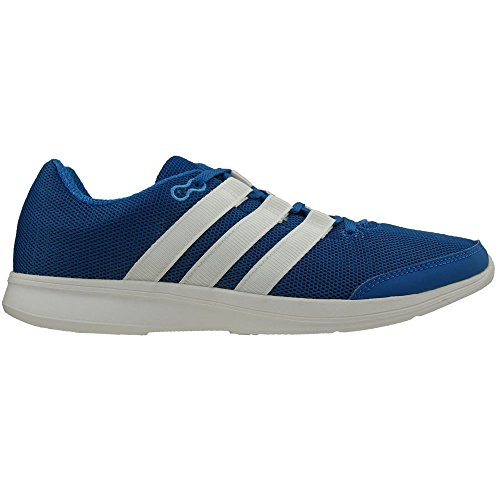 Adidas Lite Runner Herre Kører Sneakers / Sko Hvid-blå P3ebMNPh