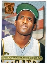 Roberto clemente baseball card 1997 topps rc4 for Roberto clemente coloring page