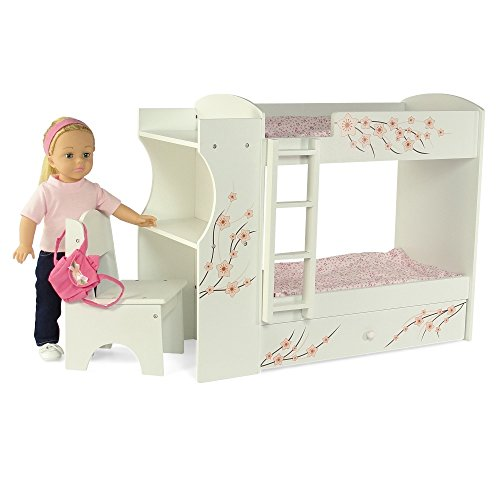 Bunk Bed Dolls: Fits American Girl Doll Bunk Bed & Desk Combo