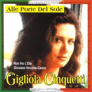 Resultado de imagen para Gigliola Cinquetti - Alle porte del sole