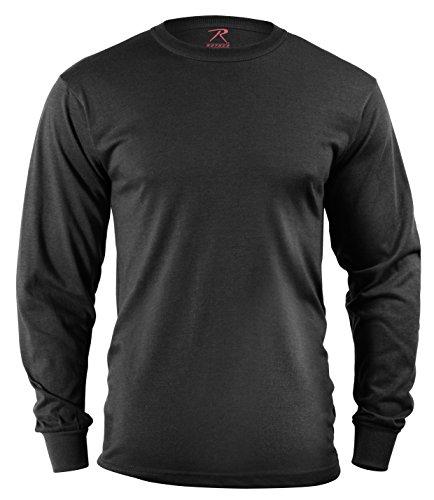Rothco Long Sleeve T-Shirt/Black, ()