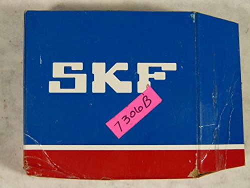 (SKF 7306 BECBY Single Row Angular Contact Ball Bearing With Pressed Brass Cage)