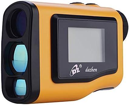 Huiiv Nuevo rangefinder de Golf 600m telémetro de Mano 4 Modos con LCD Externo Modo de inclinación de Enfoque Ajustable Modo de Niebla compensación de Distancia, Ideal para la Caza, Golf