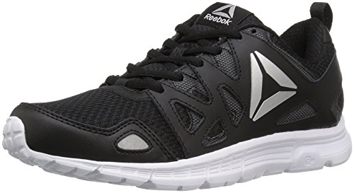 Reebok Women's Supreme 3.0 MT Running Shoe, Black/Coal/Silver/White, 7 M US