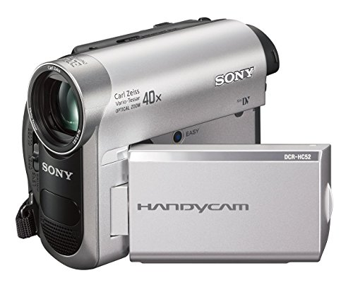 Sony DCR-HC52 MiniDV Handycam Camcorder with 40x Optical Zoom (Certified Refurbished)