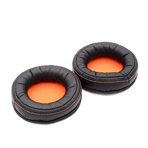 VEVER 2 pcs Replacement Earpads Ear Pads Cushion for SteelSeries Siberia 840 800 Wireless Headset Dolby 7.1 Headphone (Logo Package)