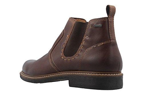 FRETZ MEN - Herren Chelsea Boots- Belfort - Braun Schuhe in Übergrößen