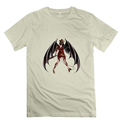 Price comparison product image Silent Hill Cool Short Sleeve Natural T Shirts For Adult Size M
