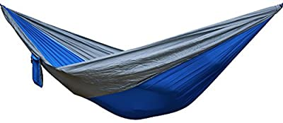 Single Parachute Camping Hammock by Swift Outdoor, Portable and Lightweight