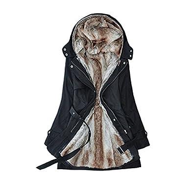 Lilian Women's Long Down Coat Winter Outerwear with Hood