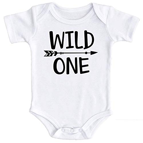 Wild One Baby Boys 1st Birthday Outfit Smash Cake Outfit Wild One First Birthday Bodysuit for Boys