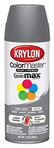 Krylon Colormaster Indoor/Outdoor Aerosol Paint, 12 oz, Deep