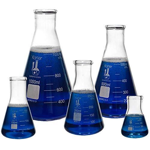 Karter Scientific Glass Flask 5 ...
