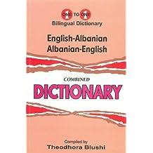 English-Albanian & Albanian-English One-to-One Dictionary (Exam-Suitable) 2015