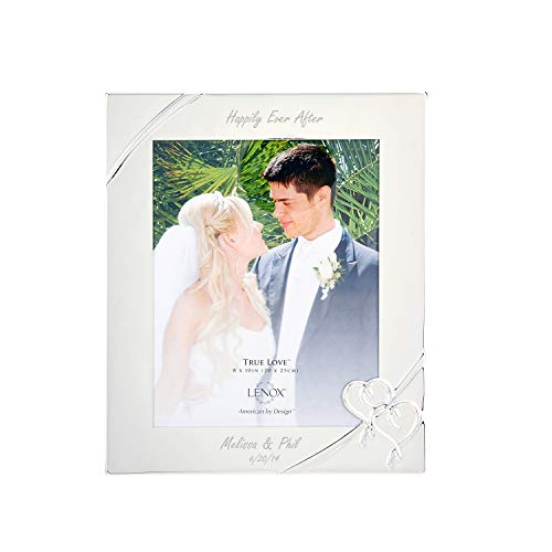 Lenox True Love 8x10 Personalized Picture Frame, Engraved Frames, Custom Photo Frame