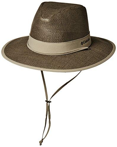 Columbia Men's Forest Finder Sun Hat, sage, tusk, L/XL