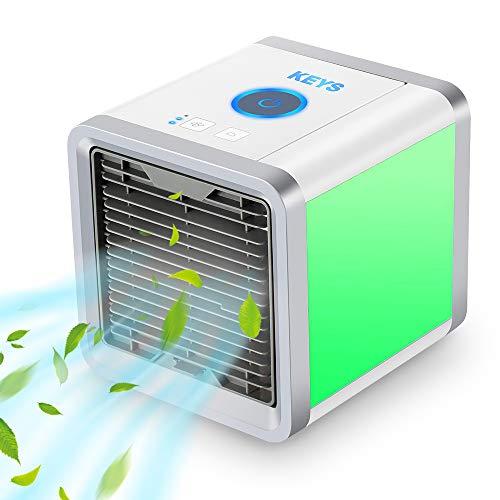 KEYS Air Cooler, Personal Space Air Cooler,3-in-1 Portable Mini Air...