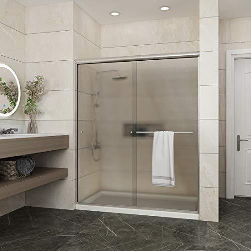 Screen Shower Two Glass (ELEGANT 58.5-60