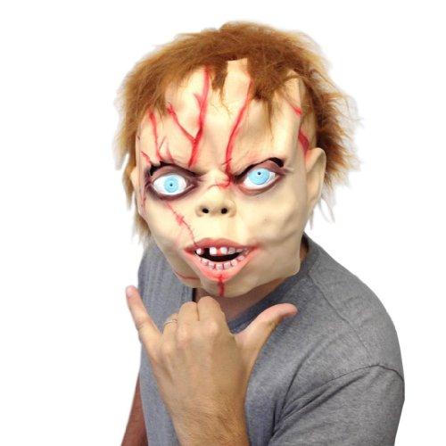 Scarey Mask (Chucky Mask (Super Creepy)- Off the Wall Toys)