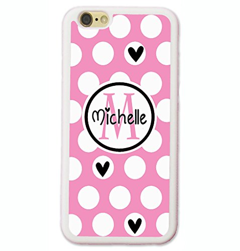 iPhone 6S Case, iPhone 6 Case, ArtsyCase - Pink Polka Dots Heart Shopping Results