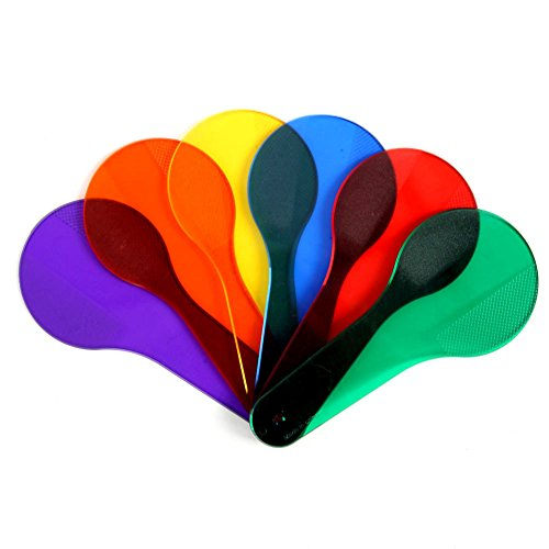 Smart Snacks Rainbow Color Cones (6pcs Kids Learning Montessori Painting Color Match Cognition Beat Training Toys)