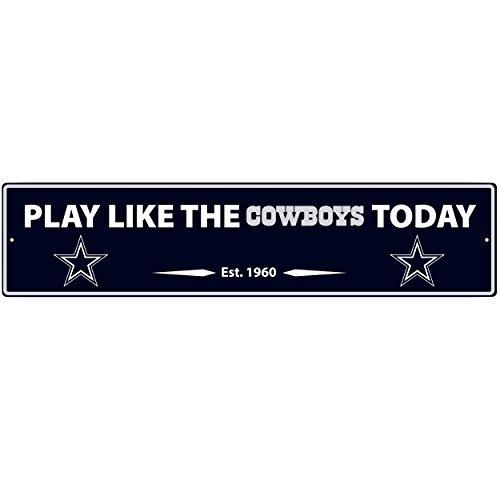 NFL Dallas Cowboys Street Sign Wall Plaque, 20
