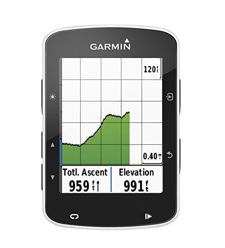 Garmin Edge 520 GIFT BOX | Bundle includes Cycle GPS Computer, PlayBetter Portable USB Charger, PlayBetter USB Car & Wall Adapters, Hard Carrying Case, Bike Mounts, USB Cable | Gift Box, Red Bow