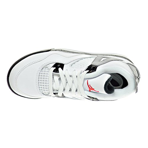 matte D 4 Little Retro ñ Shoes Us Red White Kid's 5 104 úcement 308499 black Silver 10 m Jordan fire Bp 7Ugdxq7w