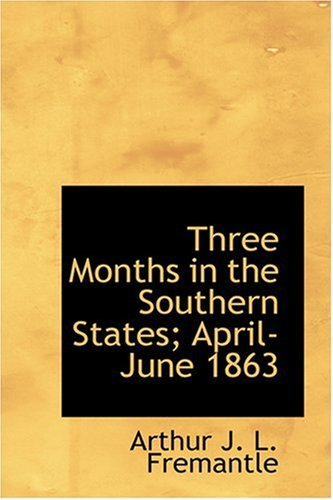 Three Months in the Southern States; April-June 1863 pdf