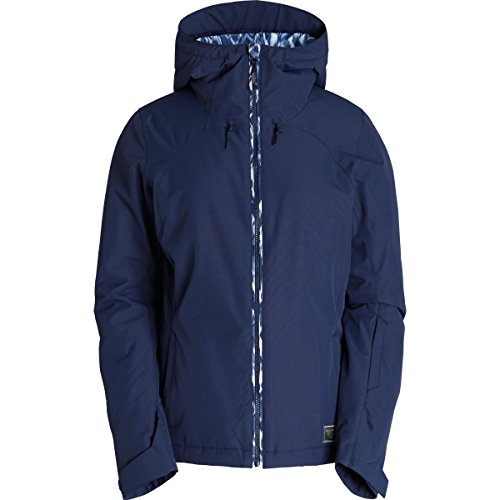Billabong Junior's Terra Snow Jacket, Peacoat, M (Billabong Snow Jackets)