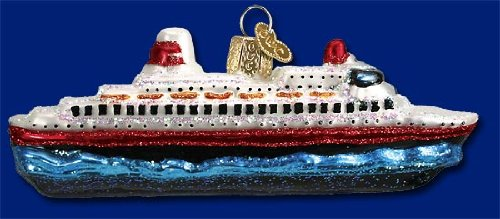 Old World Christmas Cruise Ornament product image