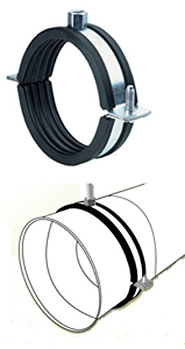 14'' Quiet Round Duct Hanger-Round Ducting Noise Cancelling Bracket HVAC by PT (Image #1)