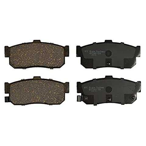 KFE Ultra Quiet Advanced KFE325-104 Premium Ceramic REAR Brake Pad Set - Auto Brake Tune