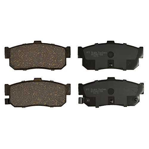 KFE Ultra Quiet Advanced KFE540-104 Premium Ceramic REAR Brake Pad Set ()