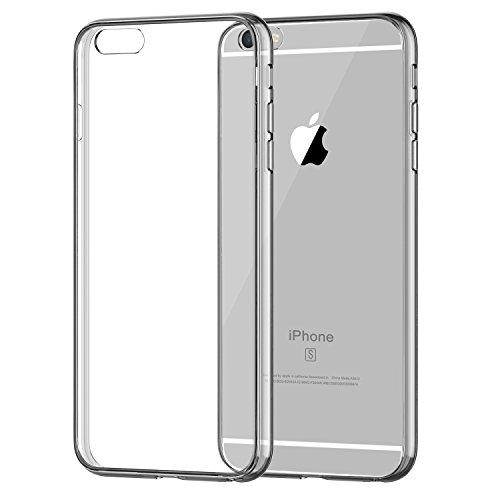 iPhone 6s Plus Case, JETech Apple iPhone 6/6s Plus Case Shock-Absorption Bumper...