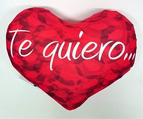 LInformal Cojín corazón Te Quiero Comer a Besos ...
