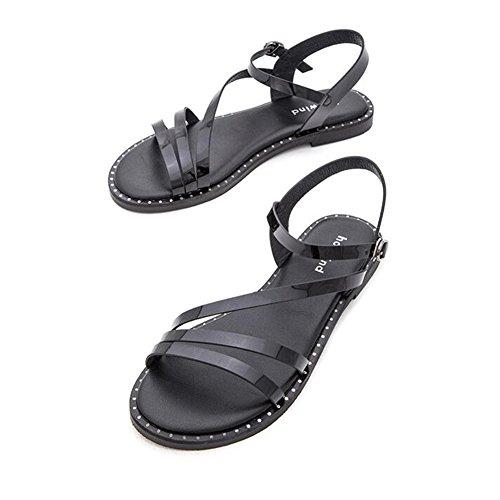 Zapatos Correa Mujeres Sandalias Cjc Moda Multi Tobillo Corte Bomba mNw0nv8