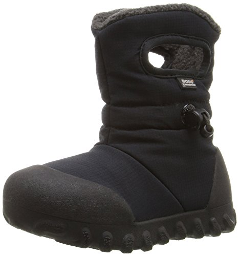 Price comparison product image Bogs B-Moc Puff Winter Snow Boot (Toddler/Little Kid/Big Kid), Black, 10 M US Toddler
