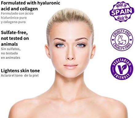 DANIÈLLE MERK - High Power Eye Serum - Crema Serum Contorno de Ojos - Serum Reafirmante, Tensor e Iluminador con Ácido Hialurónico Puro - 15ml
