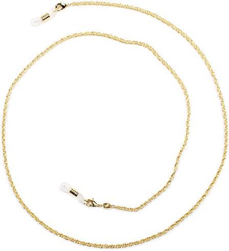 パール グラスコード 真鍮 72cm ゴールド CG-105